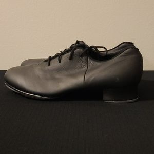 Bloch Shockwave Black Leather tap shoes 9.5
